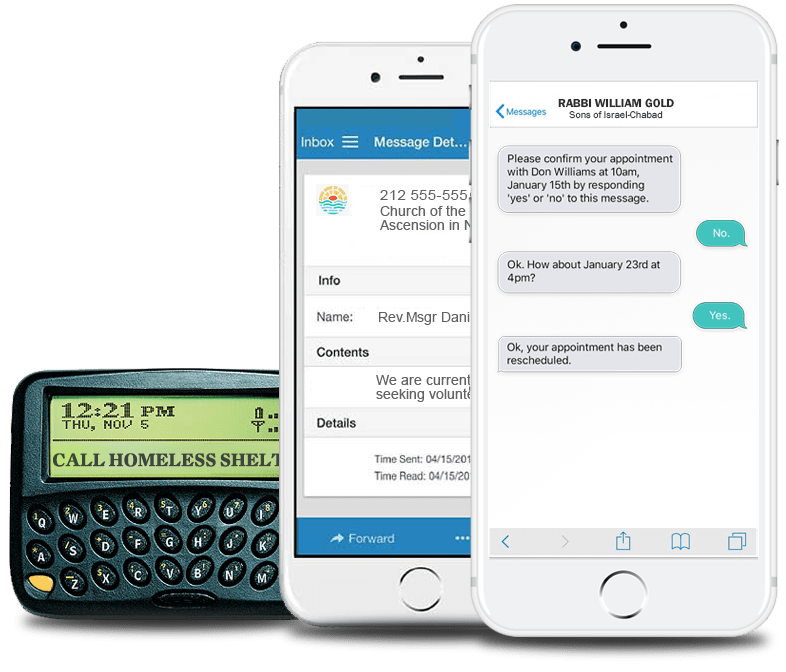 Text and Email Messaging Services